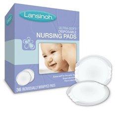 Lansinoh Ultra Soft Disposable Nursing Pads 36 ct (Quantity of 5)