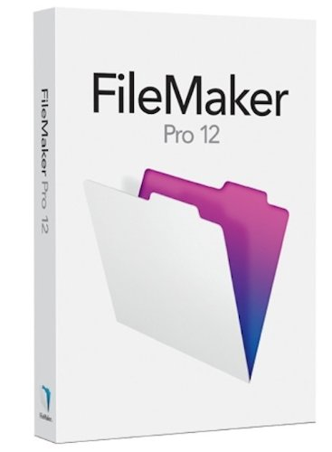 FileMaker Pro 12 Upgrade – English + Training DVD [Old Version]