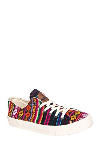 Black Spectrum Low Top Sneaker