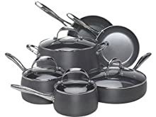 Farberware 80963 Earth Pan 10-Piece Hard Anodized Cookware Set