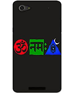 MobileGabbar Micromax Canvas Hue 2 Back Cover Printed Hard Case