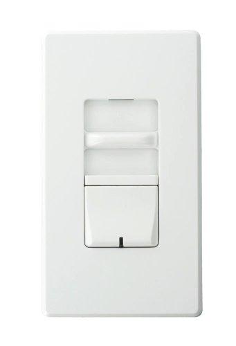 Leviton Awsmg-Xbw Renoir Ii Preset Slide Dimmer, Ballast 2-Wire Control, Standard Heat Sink, Narrow, 8-1/3 A, White