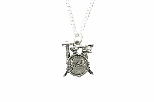 miniblings-drum-necklace-45-cm-musician-drummer-band-silver