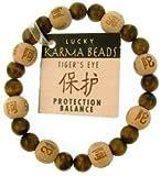 Zorbitz Inc. - Lucky Karma Bracelet with Tiger's Eye for Protection & Balance
