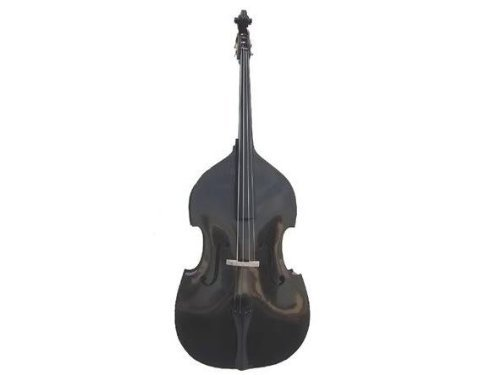 GRACE 4/4 Size Black Upright Double Bass with Bag,Bow,Bridge+Free Rosin (Black Upright Bass compare prices)