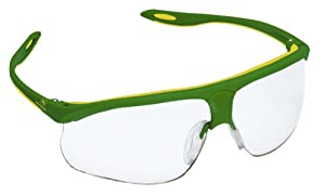 3M John Deere Clear Safety Glasses with Two-Tone Frame #93100