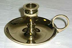 Brass Chamberstick Chime candle holder