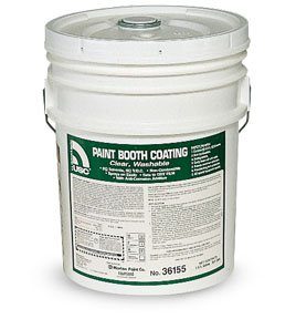 U. S. Chemical and Plastics 36155 5Gal Paint Booth Coating