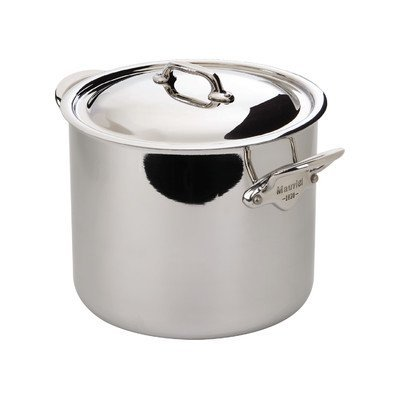 M'Cook Stock Pot with Lid Size: 10.5 QT.