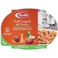 Barilla Whole Grain Fusilli with Vegetable Marinara Sauce - 9 oz