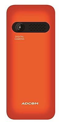 ADCOM Aqua 101 dual sim mobile phone_ Black & Orange