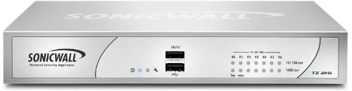 SonicWall 01-SSC-4976 TZ 215 Network Security UTM Firewall