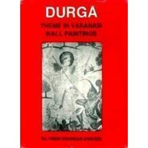 Durga (Theme in Varanasi Wall Paintings)