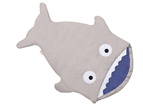 Shark Baby-Sleeping-Bag Stroller-Bed-Blanket-Swaddling Sacks (grey)