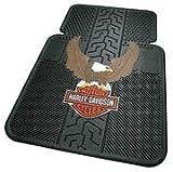 Harley Davidson Eagle - 2 Pc Floor Mats Set