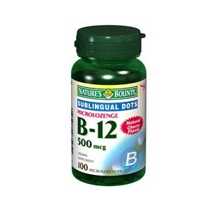 Special Pack Of 5 Natures Bounty Vitamin B-12 500Mcg Mirco L Oz 100Lz