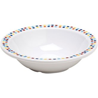 Melamine Tableware 150mm Bowl (Box 48) - lightweight and virtually unbreakable. Ideal for schools, parties and care homes