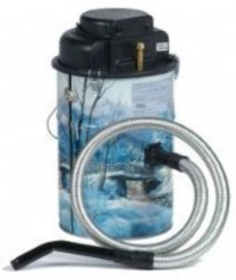 Loveless Ash Canister Vacuum Cleaner Cougar Series Quite Ash Vac, Winter Scene