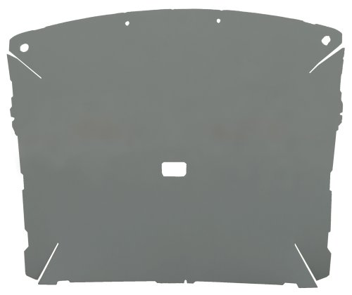 Acme AFH8795-MON6758 ABS Plastic Headliner Covered With Light Gray 1/4