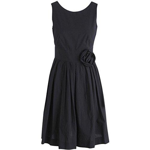 paule-ka-womens-cotton-pleated-cocktail-dress-black-38