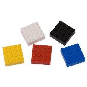 Lego 5 Pc Magnet Set (Lego Fridge Magnets compare prices)
