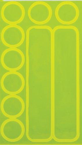 Nathan Nathan Reflective Dots and Dashes (Yellow)