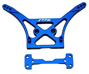 ST Racing Concepts STC9824B Heavy Duty Aluminum Rear Shock Tower for The SC10, Blue
