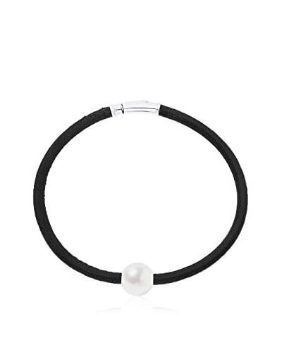 Manufacture Royale des Perles du Pacifique Armband  rhodiniertes Silber 925