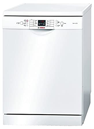 Bosch SMS63M22FF Freestanding 13places A++ Blanc lave-vaisselle - lave-vaisselles (Autonome, A, A++, Full size, Blanc, boutons)