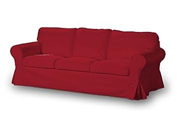 FRANC-TEXTIL 633-705-60 Rivestimento per il divano di 3 posti Ektorp, Rosso