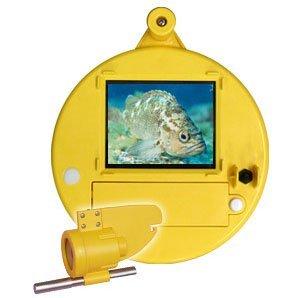 水中カメラ うみなかみるぞう君 ライン長60m イエローの商品画像