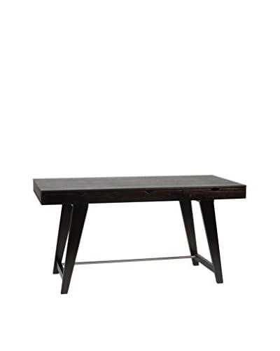 Euro Style Carson Desk, Wenge