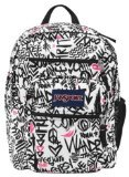JanSport Big Student Backpack, Pink Pansy Wanderlust