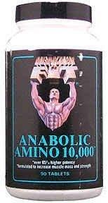 Healthy 'N Fit Anabolic Amino 10,000 90 Tab 1-Ea