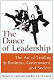 img - for The Dance of Leadership: The Art of Leading in Business, Government, And Society book / textbook / text book