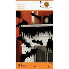 Martha Stewart Crafts Halloween Bat Cave Silhouettes