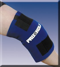 Knee Wrap With Removable Soft Stuff Inserts