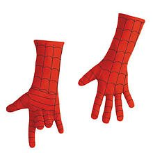 Disguise Marvel Spider-Man Child Gloves Deluxe Costume Accessory, One Size Child (Deluxe Costume Gloves)