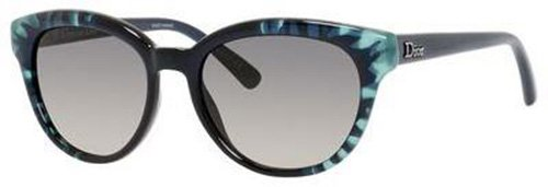 Christian Dior  Christian Dior Tiedye 2/S Sunglasses Flower Turquoise / Dark Gray Shaded