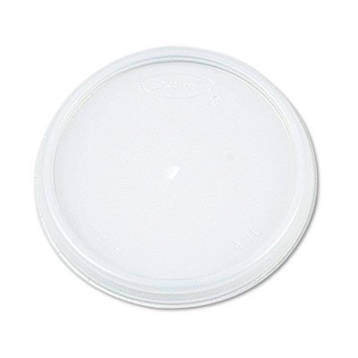 Dart Plastic Lids, for 8,12,16 oz. Hot/Cold Foam Cups, Vented, 1000/Carton