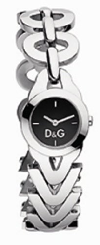 Dolce & Gabbana DW0547 Women's Analog Quartz Watch with Silver Stainless Steel Bracelet