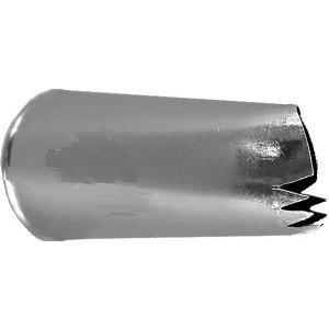 Ateco Decorating Tip 158 (Color: Silver)