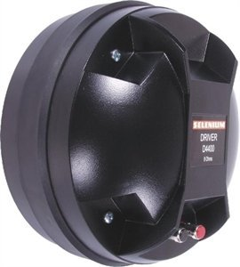 "New! Jbl / selenium d4400ti titanium 2""horn driver 4"" voice coil."