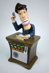 Teller Man - The Moving & Talking Bank - 1