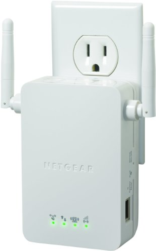 Netgear N300 Wi-Fi Range Extender - Wall Plug Version (Wn3000Rp) front-914259