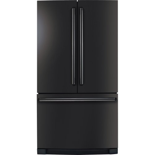Electrolux EI23BC30KB IQ-Touch 22.6 Cu. Ft. Black Counter Depth French Door Refrigerator - Energy Star
