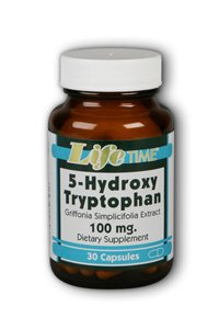 LifeTime 5-hydroxy tryptophane 100 mg, 30 Count