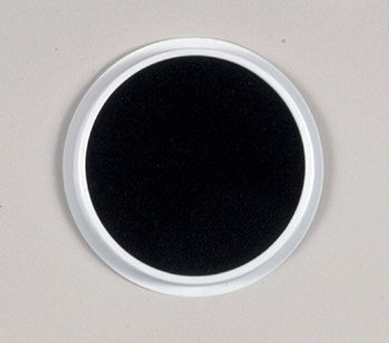 15 Pack CENTER ENTERPRISES INC. JUMBO CIRCULAR WASHABLE PADS BLACK
