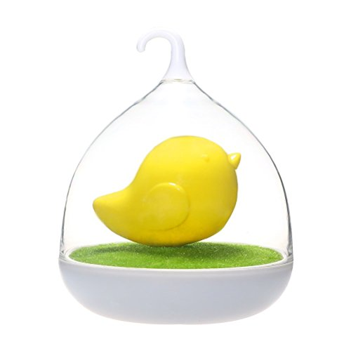 WNOSH (TM) Birdcage Lamp Accmart Baby Nursery Birdcage LED Night Light Touch Sensor Dimmable Lamp(1.2m USB Charging Cable) for Bedroom Living Room Decoration (yellow)