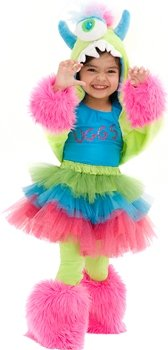 Uggsy Monster Child Costume (Pink/Blue) Size Small/Medium